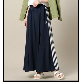 アディダス(adidas)の希少♡S❇︎ adidas BEAUTY&YOUTH コラボ ロングスカート(ロングスカート)