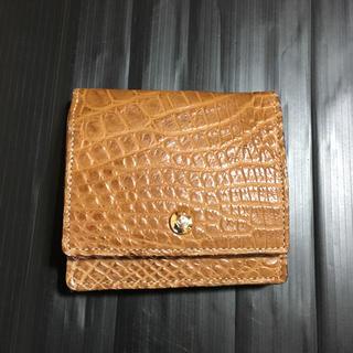 エーディーエムジェイ(A.D.M.J.)のアクセソワ ADMJ 型押し レザー 財布(財布)