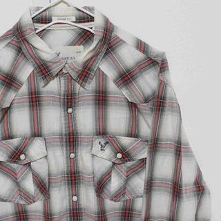 アメリカンイーグル(American Eagle)のUS アメリカンイーグル WHRDBK ドレス シャツ M(シャツ)