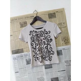 ジョルジュレッシュ(GEORGES RECH)のGEORGES RECH ジョルジュ レッシュ Tシャツ トライバル風ペイズリー(Tシャツ(半袖/袖なし))