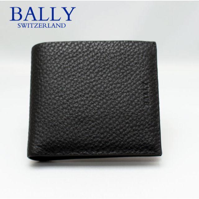 Bally(バリー)のBALLY バリー 二つ折り財布 ブラック MYIE/780 メンズのファッション小物(折り財布)の商品写真