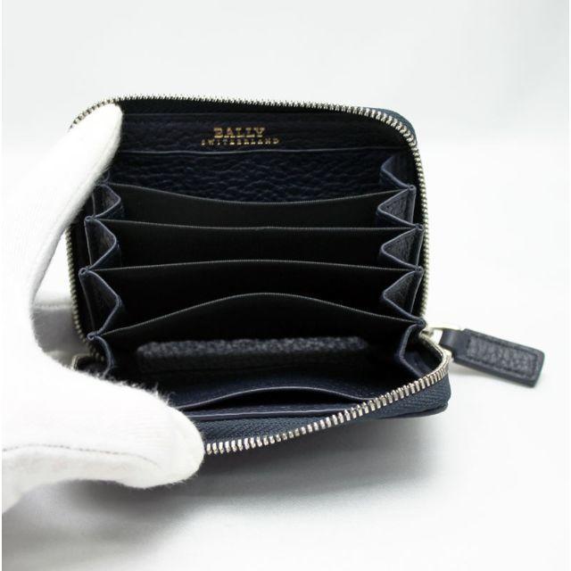 Bally(バリー)のBALLY バリー カードケース ブルー MEBIOT/447 メンズのファッション小物(名刺入れ/定期入れ)の商品写真