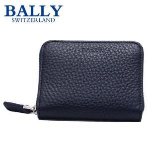 バリー(Bally)のBALLY バリー カードケース ブルー MEBIOT/447(名刺入れ/定期入れ)