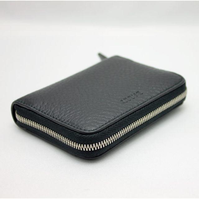 Bally(バリー)のBALLY バリー カードケース ブラック MEBIOT/780 メンズのファッション小物(名刺入れ/定期入れ)の商品写真