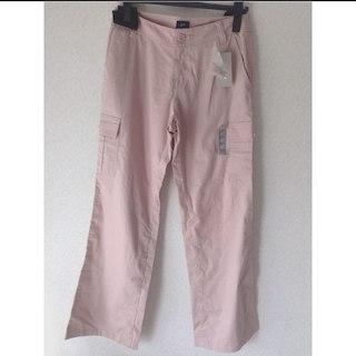 ジーユー(GU)のgu新品❗️春ピンク カーゴパンツ ズボン(ワークパンツ/カーゴパンツ)