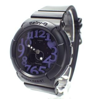 カシオ(CASIO)のA622 美品 カシオ Baby-G BGA-134 ブラック 時計(腕時計)