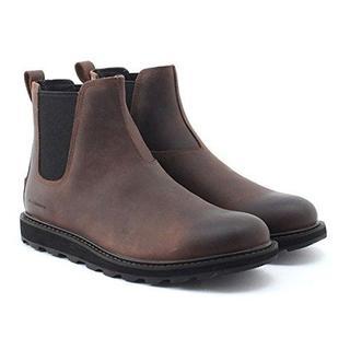 ソレル(SOREL)のソレル マドソンチェルシーウォータープルーフ タバコ/ブラック 28㎝ 防水(ブーツ)