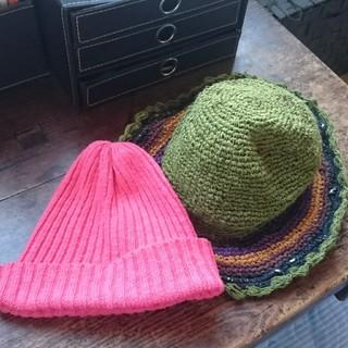 マライカ(MALAIKA)の春夏用帽子2点セット(ハット)