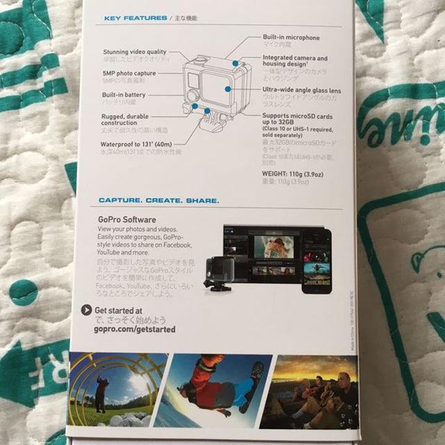 GoPro スマホ/家電/カメラのカメラ(その他)の商品写真