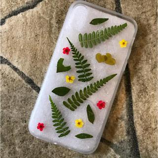iPhone - スマホケース 押し花