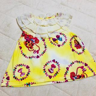 ジェモー(Gemeaux)の美品 チュニック トップス 95 女の子 HRL ジェモー(Tシャツ/カットソー)