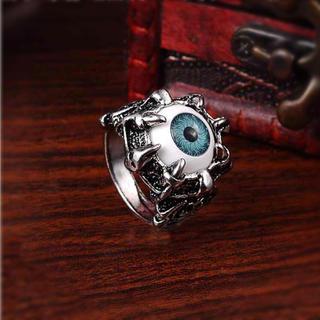 リング デビル ゴースト 目玉 【新品】 12号 メンズ 指輪 チタニウム (リング(指輪))