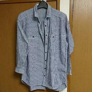 ビーエルユーイー(B.L.U.E.)のBLUEストライプシャツ(シャツ/ブラウス(長袖/七分))