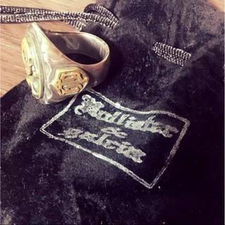 ガルシア(galcia)のGalcia x Hollister カレッジリング(リング(指輪))