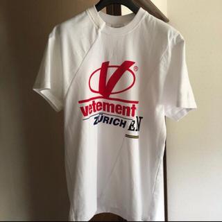 バレンシアガ(Balenciaga)の確実正規品 vetements カット Tシャツ(Tシャツ/カットソー(半袖/袖なし))