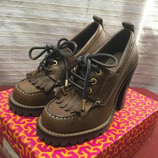 トリーバーチ(Tory Burch)の未使用 TORY BURCH トリーバーチ ブーツ 靴 正規品(ブーツ)