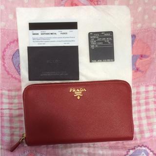 プラダ(PRADA)の新品未使用♡PRADA♡長財布♡プラダ(財布)