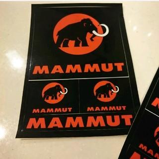 マムート(Mammut)の1枚600円!10枚5500円! 新品 マムート  ポストカード ステッカー(登山用品)