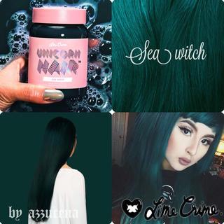 ライムクライム(Lime Crime)のLimecrime Unicorn Hair Sea witch(カラーリング剤)