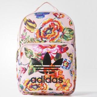 アディダス(adidas)のadidas originals ♡ 花柄リュック(リュック/バックパック)