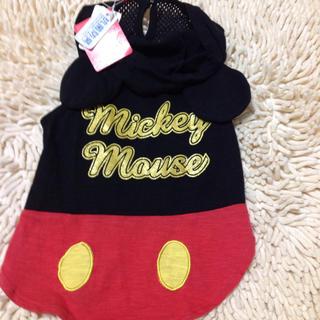 ディズニー(Disney)の新品mickeyワンピース(犬)