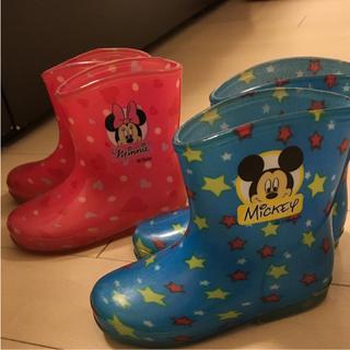 ディズニー(Disney)の長靴 14㎝ 2足セット(長靴/レインシューズ)