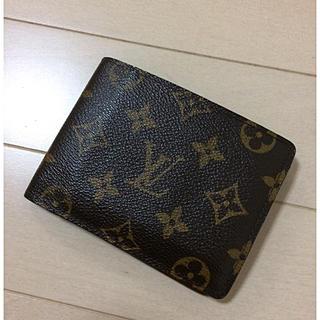 ルイヴィトン(LOUIS VUITTON)のルイヴィトン 二つ折り財布(折り財布)