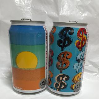 アンディウォーホル(Andy Warhol)のキリンラガービール◆アンディウォーホルANDYWARHOL 缶2個セット(ノベルティグッズ)