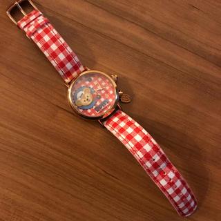 ダッフィー(ダッフィー)の《未使用》香港ディズニー ダッフィー 腕時計(腕時計)