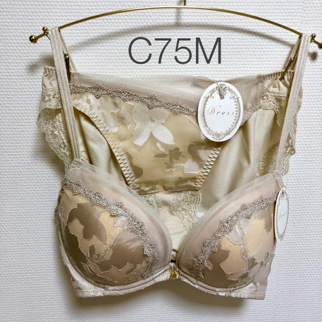 Triumph(トリンプ)の【よし様専用】Dress Shadow of Bloom ブラ&ショーツ レディースの下着/アンダーウェア(ブラ&ショーツセット)の商品写真