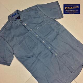 ペンドルトン(PENDLETON)の90s PENDLETON ペンドルトン ビッグシルエット メンズ シャツ 半袖(シャツ)