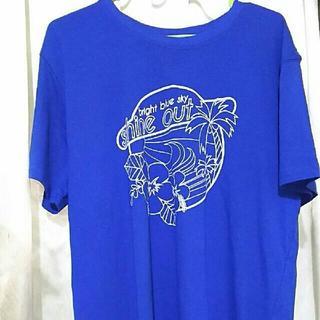 綿100% 新品 Tシャツ LLサイズ(Tシャツ/カットソー(半袖/袖なし))