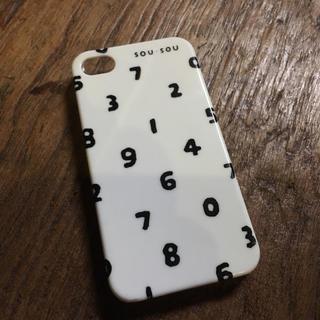ソウソウ(SOU・SOU)のsousou iPhone4用 携帯ケース レアです!(iPhoneケース)