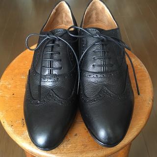 サヤ(SAYA)のSAYA 新品 ‼️メダリオン レースアップシューズ(ローファー/革靴)