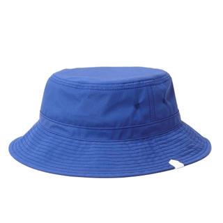 サイラス(SILAS)のsilas solid bucket hat サイラス バケットハット 青(ハット)