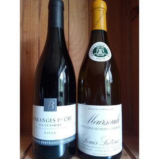 ブルゴーニュ 赤白2本 ムルソー マランジュ1級(ワイン)