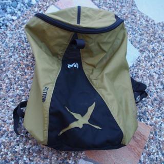 ミレー(MILLET)の《6月末で終了》ミレー▶︎wall32 ザック 32L 登山 クライミング 緑(登山用品)