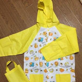 新品未使用!レインコート☆ポンデリング カッパ  雨具  キッズ  子供(傘)