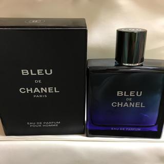 シャネル(CHANEL)のCHANEL ブルードゥシャネル オードパルファム 100ml 未使用(香水(男性用))