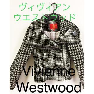 ヴィヴィアンウエストウッド(Vivienne Westwood)の【Vivienne Westwood】ヴィヴィアン★ドットショートコート(ピーコート)