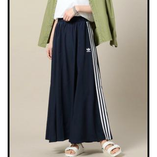 アディダス(adidas)のLサイズ ♡ adidas  BEAUTY&YOUTH コラボ ロングスカート(ロングスカート)
