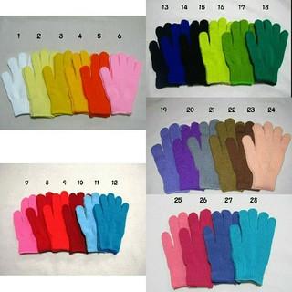 カラー手袋 6色 6枚(手袋)