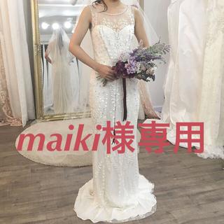 ヴェラウォン(Vera Wang)の【maiki様専用】ジェニーパッカム Hermia UK4(ウェディングドレス)