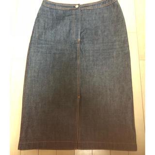 オールドイングランド(OLD ENGLAND)の美品 オールドイングランド デニム スカート(ひざ丈スカート)