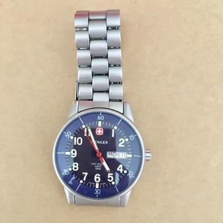 ウェンガー(Wenger)の美品 WENGER ウェンガー腕時計 SAKデザイン(腕時計(アナログ))