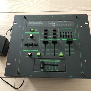 audio-technica製の DJ用ミキサー、 AT-MX33G
