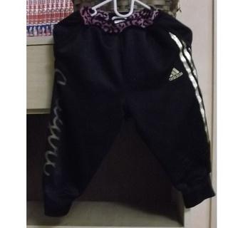アディダス(adidas)の【♥️格安続々出品】アディダス 七分丈 ヒョウ柄×ゴールド 130(パンツ/スパッツ)