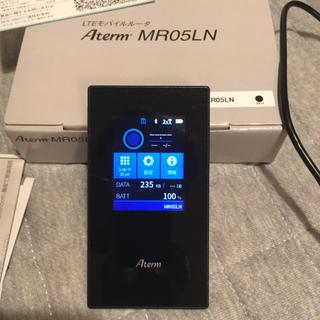 エヌイーシー(NEC)のSIMフリー ポケットWiFi NEC Aterm MR05LN (PC周辺機器)