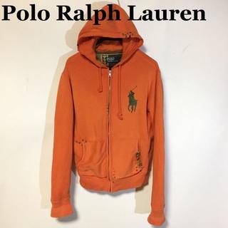 ポロラルフローレン(POLO RALPH LAUREN)のラルフローレンポロ☆ビッグポニー リメイクスウェットパーカ M(パーカー)