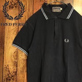 【激レア】フレッドペリー FRED PERRY イギリス製 鹿の子 ポロシャツ
